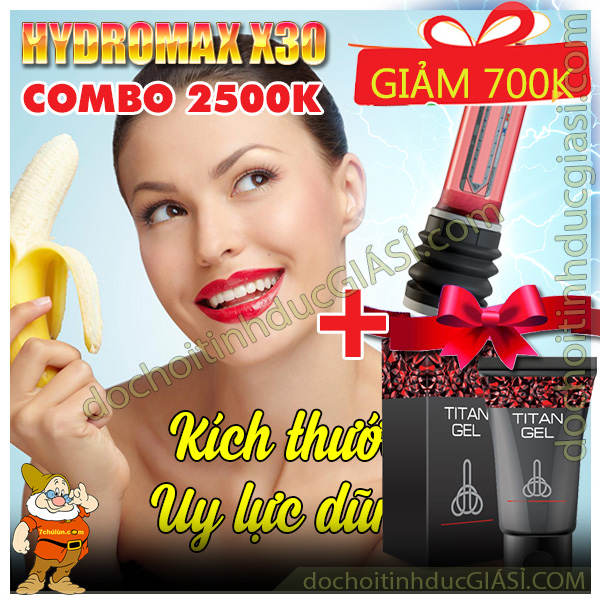 combo-3-may-tap-to-duong-vat-hydromax-x30-kich-thuoc-toi-uu-uy-luc-dung-manh