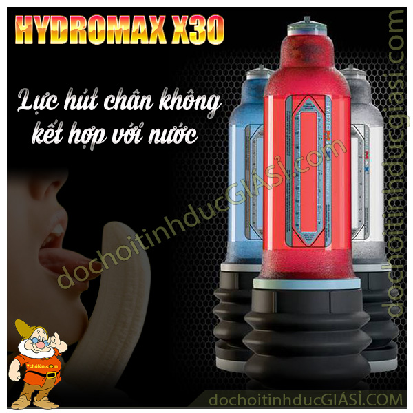 5-may-tap-to-duong-vat-hydromax-x30-luc-hut-chan-khong-ket-hop-voi-nuoc